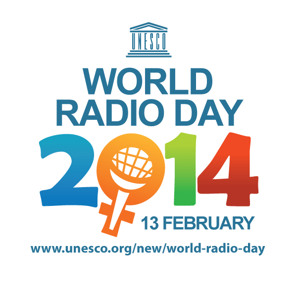 Unesco World Radio Day logo